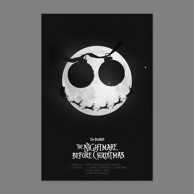 The Nightmare Before Christmas Poster - excites - the Portfolio of ...