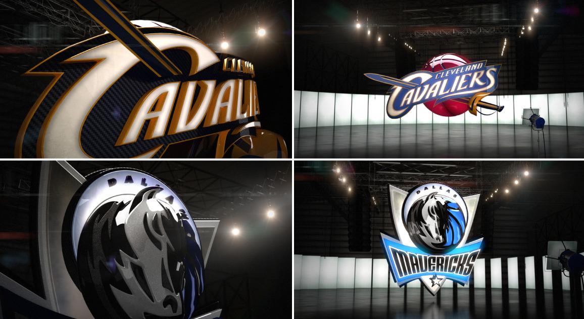 ESPN National Basketball Association Rebrand 2011 Team Logos