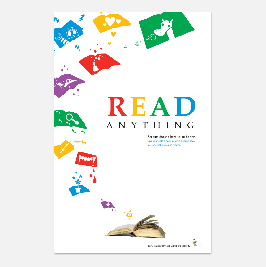 read anything advocacy poster keri obrien design