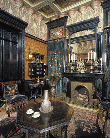Aesthetic Movement Antique Room